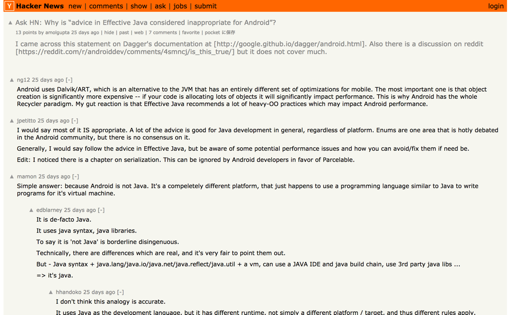 ask_hn__why_is_advice_in_effective_java_considered_inappropriate_for_android____hacker_news